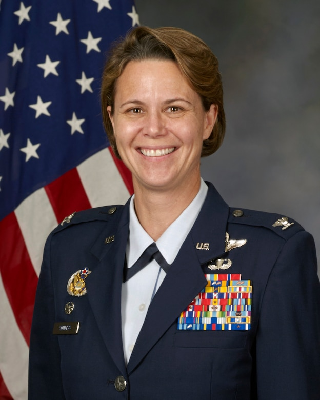 62 Airlift Wing Commander Official Photo - Col. Sonkiss