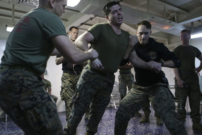 15th MEU Marines have shocking experience
