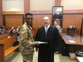 From Senegal to citizenship, one Guardsman's story