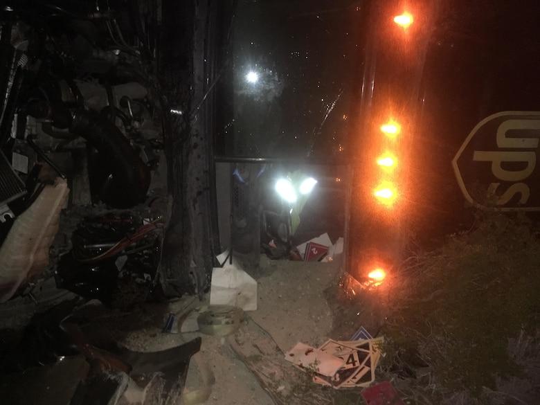 3rd MAW Marine saves UPS driver from crash