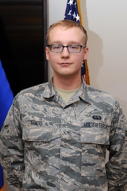 Airman Jesse Sands, 50th Space Communications Squadron. (Courtesy photo)