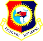 The shield for the 184th Intelligence Wing.