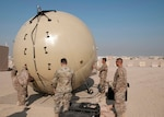 369th Sustainment Brigade trains on Army's newest communications equipment in Kuwait