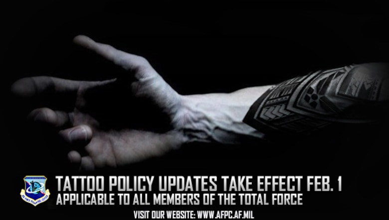 Af Tattoo Policy Updates Take Effect Feb 1 Air National Guard