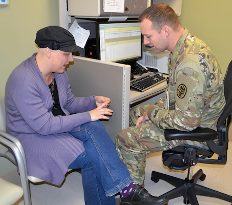 Cancer patient praises Brooke Army Medical Center's team