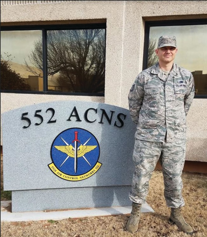 Tech. Sgt. Kevin, from the 552nd Air Control Networks Squadron, put his CPR training to good use during the holiday season. The sergeant rendered emergency aid to a motorist who had suffered a heart attack, performing CPR until medical personnel arrived on scene. (Courtesy photo)