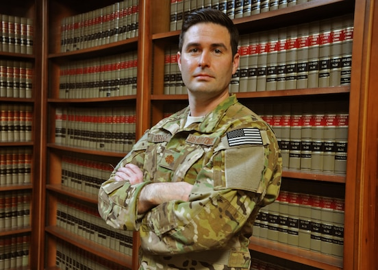 Air Force Reserve Maj. Matthew Gorsuch is a Combat Aviation Advisor with the 711th Special Operations Squadron.  This summer his mission tasks will shift dramatically as he assumes a new legislative liaison role on Capitol Hill. (U.S. Air Force photo/Dan Neely)