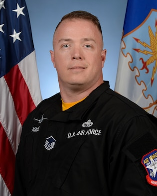 Biography photo for Master Sgt. Rich Hall, Viper Demo Team superintendent