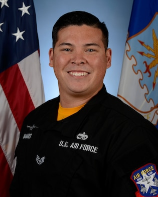 Biography photo for Staff Sgt. Billy Harris, Viper Demo Team dedicated crew chief