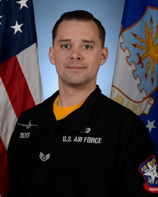 Biography photo for Staff Sgt. Dominic Dizes, Viper Demo Team dedicated crew chief