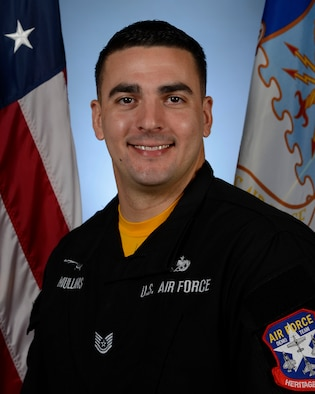 Biography photo for Tech. Sgt. Stephen Mullins, Viper Demo Team avionics specialist