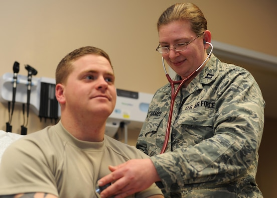 U.S. Air Force Capt. Rachel Rothamel, 19th Medical Operations Squadron Family Health Clinic Nurse, was nominated as the Combat Airlifter of the Week, Feb. 6, 2017, at Little Rock Air Force Base, Ark. Rothamel tirelessly provides manning support for Pediatrics, Women's Health and the Referral Management Clinics on base. (U.S. Air Force photo by Airman 1st Class Grace Nichols)