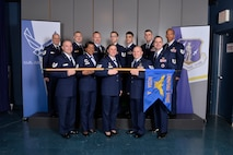NCO academy class 17-2, A Flight, at the Chief Master Sergeant Paul H. Lankford Enlisted Professional Military Education Center in Louisville, Tenn. (U.S. Air National Guard photo by Master Sgt. Jerry D. Harlan)