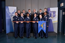 Airman leadership school class 17-3, C Flight, at the Chief Master Sergeant Paul H. Lankford Enlisted Professional Military Education Center in Louisville, Tenn. (U.S. Air National Guard photo by Master Sgt. Jerry D. Harlan)