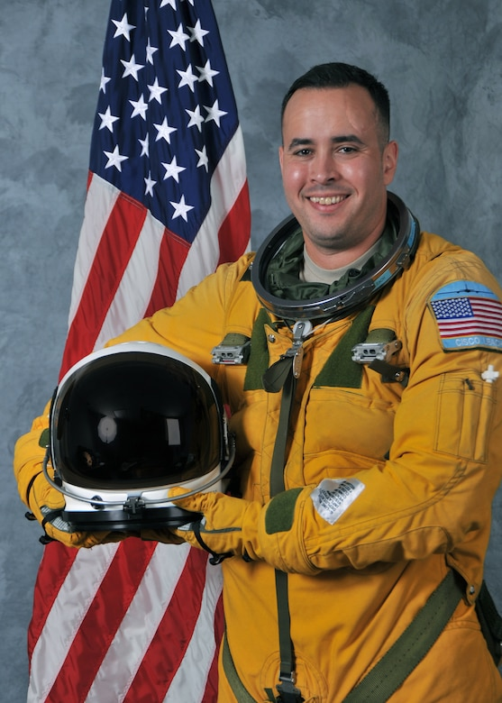 Maj. Francisco Leach, former U-2 pilot and current deputy chief of safety, 25th Air Force, has been recognized as the 2016 Presidential Advance Agent of the Year.