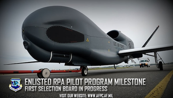 The enlisted remotely piloted aircraft program hits another milestone, making history with the first selection board currently in progress. 185 Airmen will meet the board, hoping to be selected in the next enlisted group to attend RPA pilot training. (U.S. Air Force photo by Tech. Sgt. April Quintanilla)