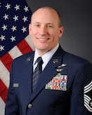 Official photo of Chief Master Sergeant John R. Duhaime.