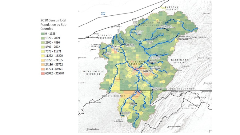 Utilizing GPS technology, water-quality sonde measurements, flow cells, peristaltic pumps and an ultraviolet nitrate sensor, the Army Corps and experts from the university were able to map nitrate concentrations in the three rivers around Pittsburgh.