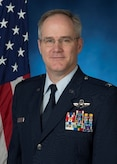 Official photo of Col. David McPhetres, commander of the 168th Maintenance Group, Alaska Air National Guard.