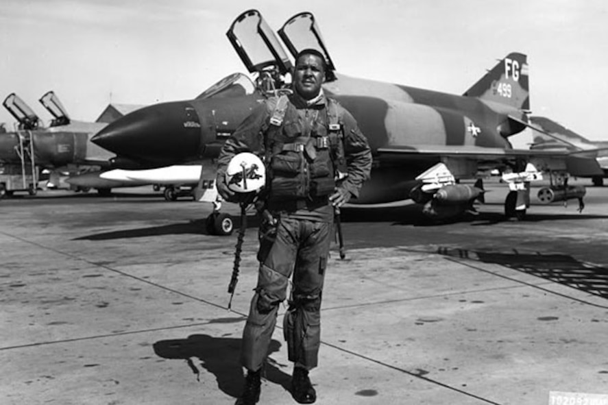 During Vietnam, Gen. Daniel James  flew 75 combat missions including the infamous Operation BOLO mission where seven communist MiG-21 aircraft were destroyed. Operation BOLO was a deception-based mission intended to trick enemy fighter aircraft into battle where American fighters held the advantage. This operation pitted the U.S. F-4 Phantom II against the MiG-21 and, because of this operation, the enemy re-evaluated their MiG-21 strategy and deployment.