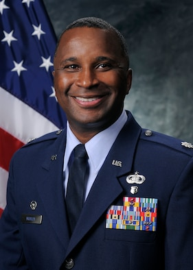 Lt.Col. Merrell D. Mobley, 50th Force Support Squadron commander