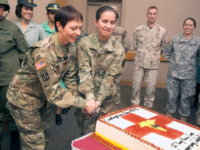 BAMC celebrates Army Nurse Corps 116th birthday Joint Base San