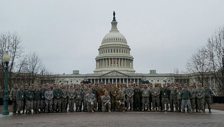 Airmen and Soldiers from the West Virginia National Guard specialized units, including the Chemical, Biological, Radiological, Nuclear and high yield Explosive, or CBRNE, Enhanced Response Force Package (CERFP), ANG Fatality & Services Recovery Response Team (FRST) and the Joint Incident Site Communications Capability (JISCC), deployed in support of tthe 58th Presidential Inauguration, Washington, D.C., January 20, 2017.