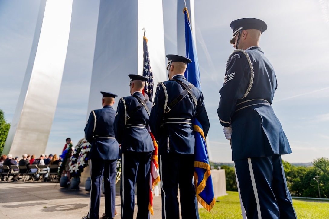 At 270 feet tall, the Air Force Memorial honors the legacy of the past and present service members in the United States Air Force. (Courtesy photo)