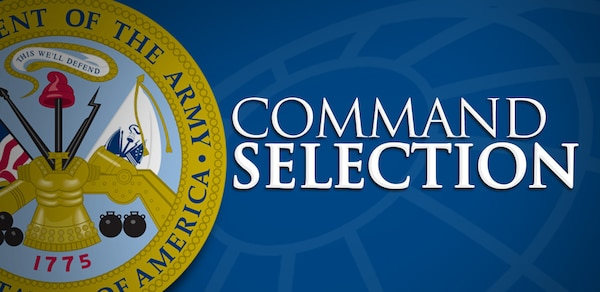 Command selection results announced