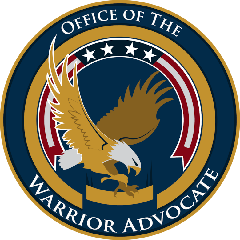 The new formed Office of the Warrior Advocate's objective is to strengthen warrior care coordination across base agencies and to ensure leadership visibility of its Invisible Wounds of War and Wounded Warrior community. (U.S. Air Force graphic by Joshua Plueger)