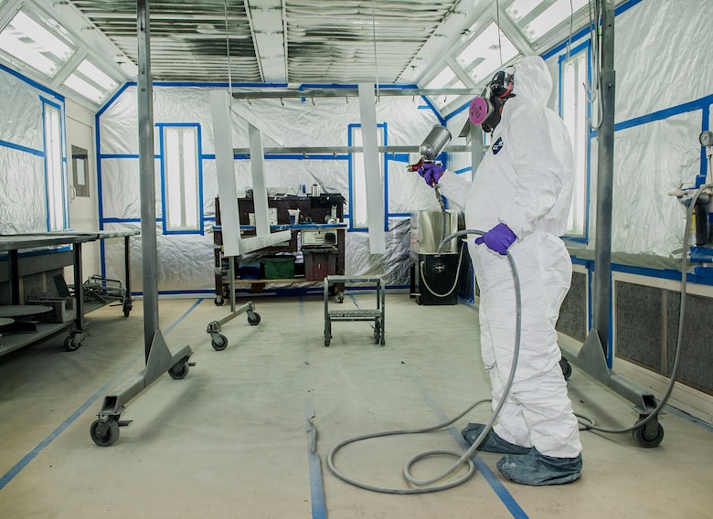 Spray Paint To Prevent Rust On Medical Equipment