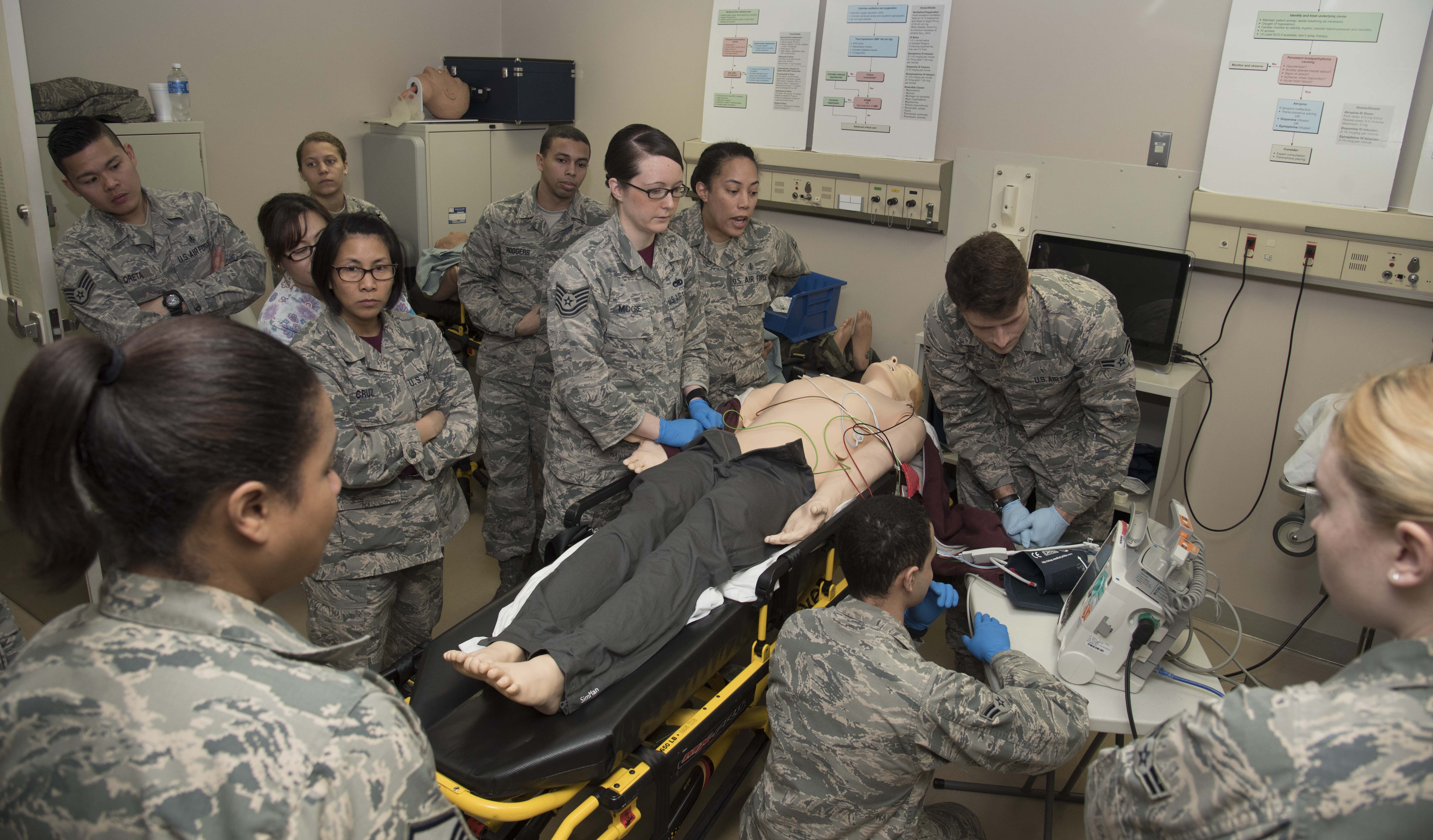Medical personnel stay ready for the real deal > Misawa Air Base