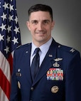 Col. Tom Blazek, Commander, 1st Weather Group at Offutt AFB, NE.