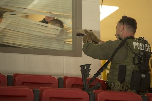Parris Island tests emergency response with active shooter