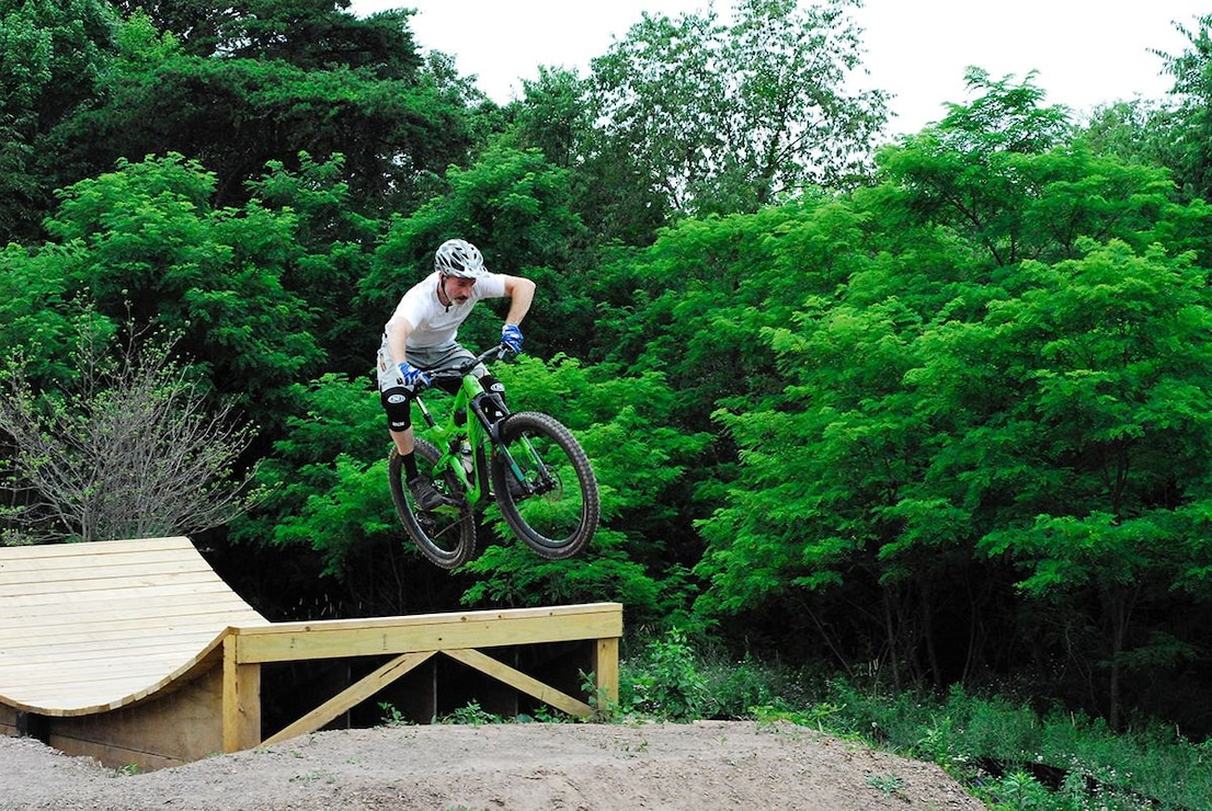 Check out the mountain bike skills park across from the Raystown Lake Visitor Center!