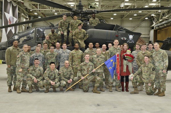 Eighth Army Honors High-readiness Unit with Streamer > U S