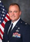 Official biography portrait for Lt. Col Joe Logan, 200th RED HORSE Squadron Detachment 1 Commander
