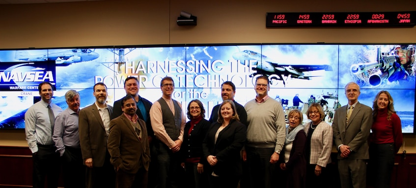 Representatives from TechLink – a Department of Defense Partnership Intermediary at Montana State University, attended the Innovation Discovery Event hosted by NSWC Crane's Technology Transfer (T2) Office in partnership with the Office of Naval Research (ONR).