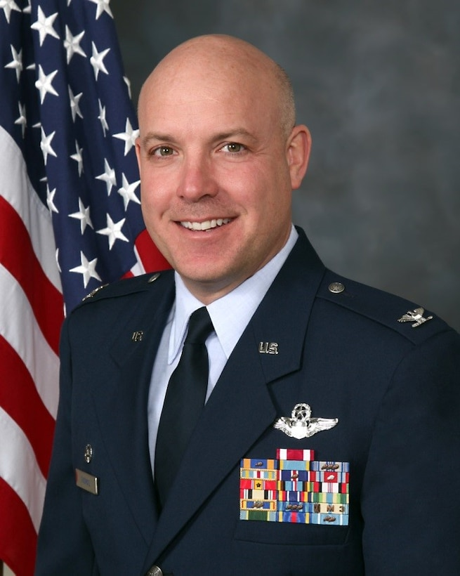COLONEL TODD K. THOMAS, Commander of the 179th Maintenance Group