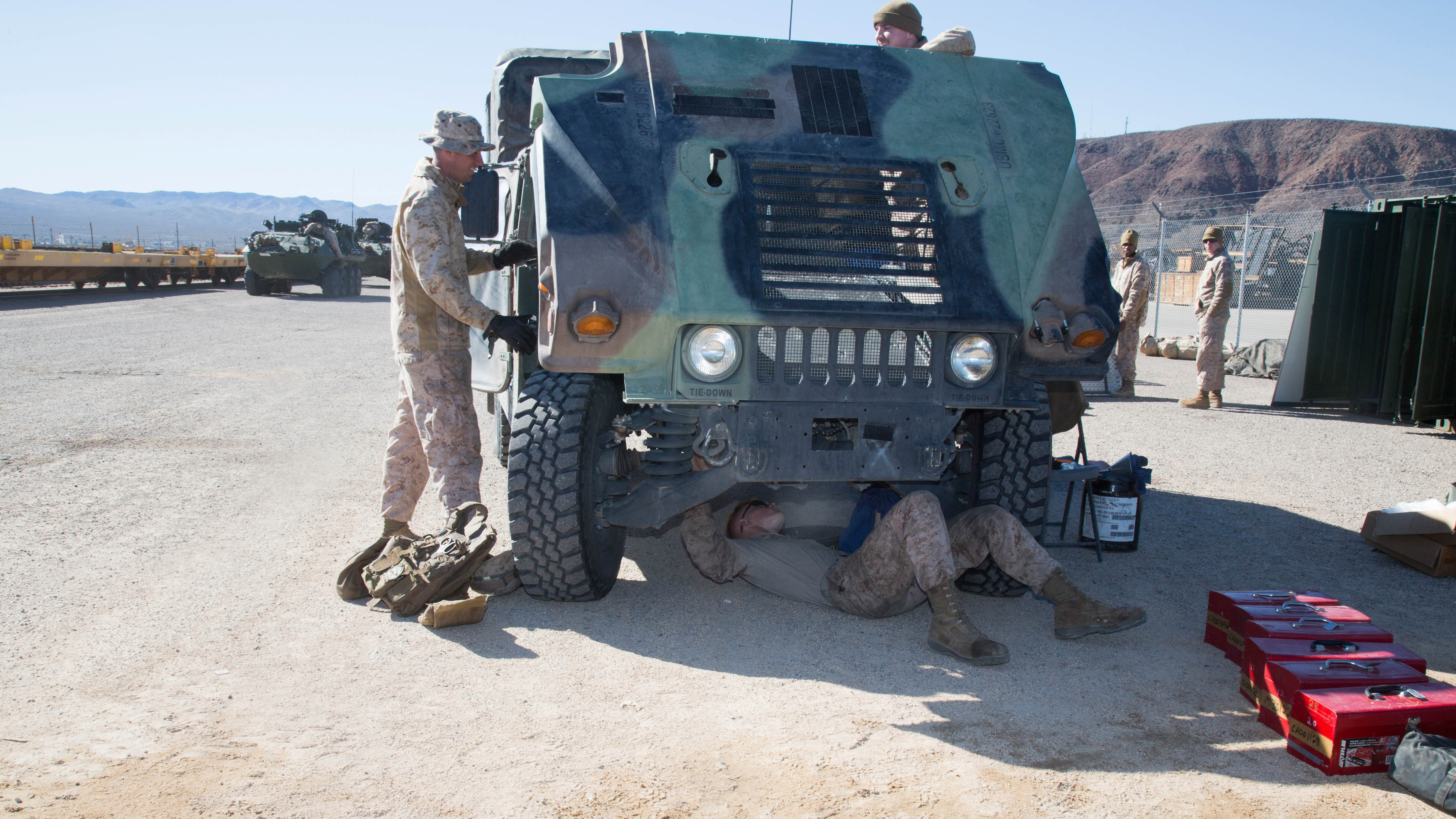Marines and Soldiers train with RFID and Shout nano in tracking Railops