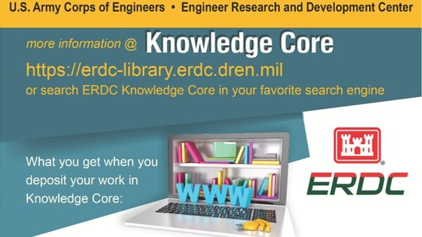 Knowledge Core - a DSpace-based digital repository platform established in Feb. 2017 to  host ERDC's technical reports and other archival and historical items. Search - ERDC LIBRARY