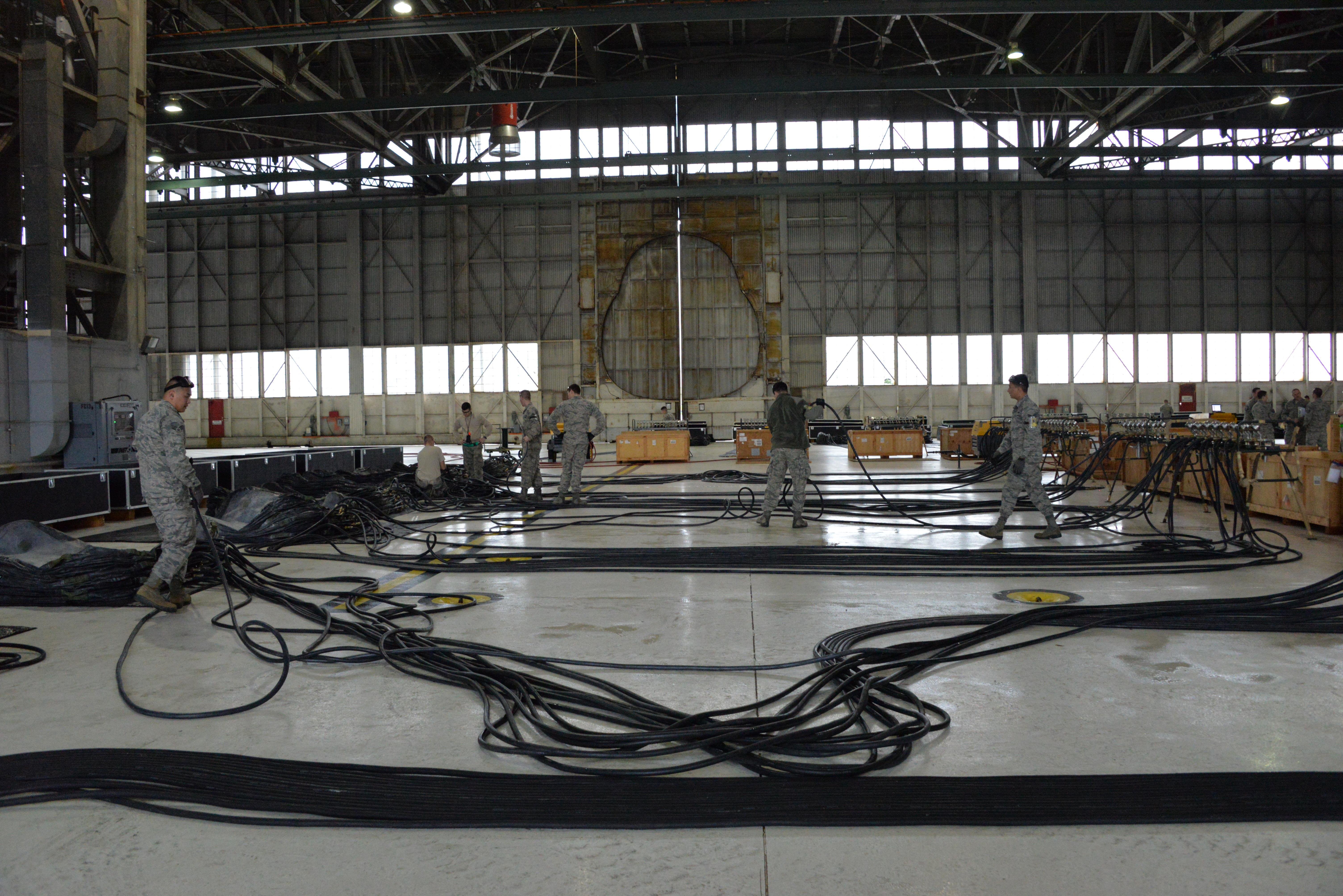 CDDAR team critical to keeping three aircraft mission capable ...