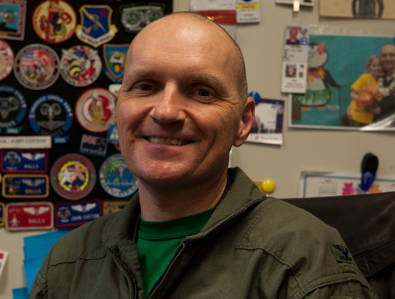 U.S. Air Force Col. John Cotton, 18th Aerospace Medicine Squadron commander, saved a local woman's life Feb. 3, 2017, near Kadena Air Base, Japan. As Cotton commuted home, he noticed a car accident scene and provided care to a bicyclist who had been struck during the accident. (U.S. Air Force photo by Senior Airman Lynette M. Rolen/Released)