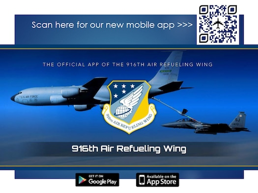 916 ARW Mobile Application Screenshot 1 (U.S. Air Force photo illustration by Wendy Lopedote)