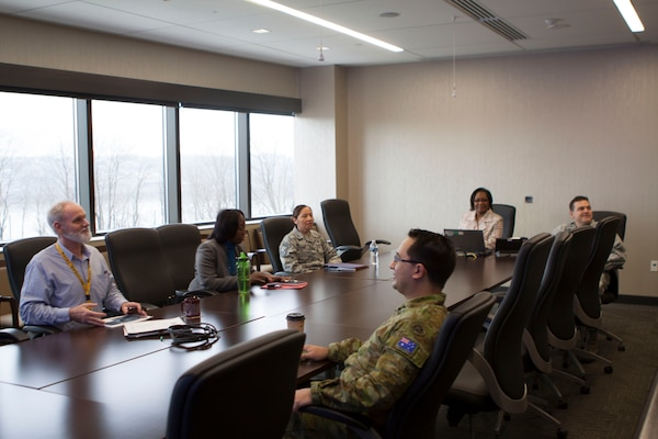 Newly assigned Defense Logistics Agency National Account Managers visited DLA Distribution headquarters and its largest distribution center in the network, DLA Distribution Susquehanna, Pennsylvania, on Feb. 15.