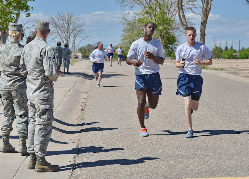 Health Promotions will feature a training routine to help Airmen improve their 1.5-mile run times for physical fitness tests.