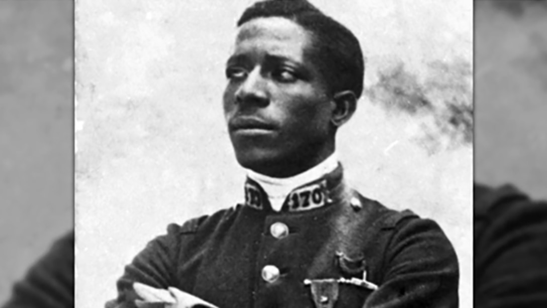 The very first African-American military aviator: Eugene Bullard, known as the Black Swallow of Death.