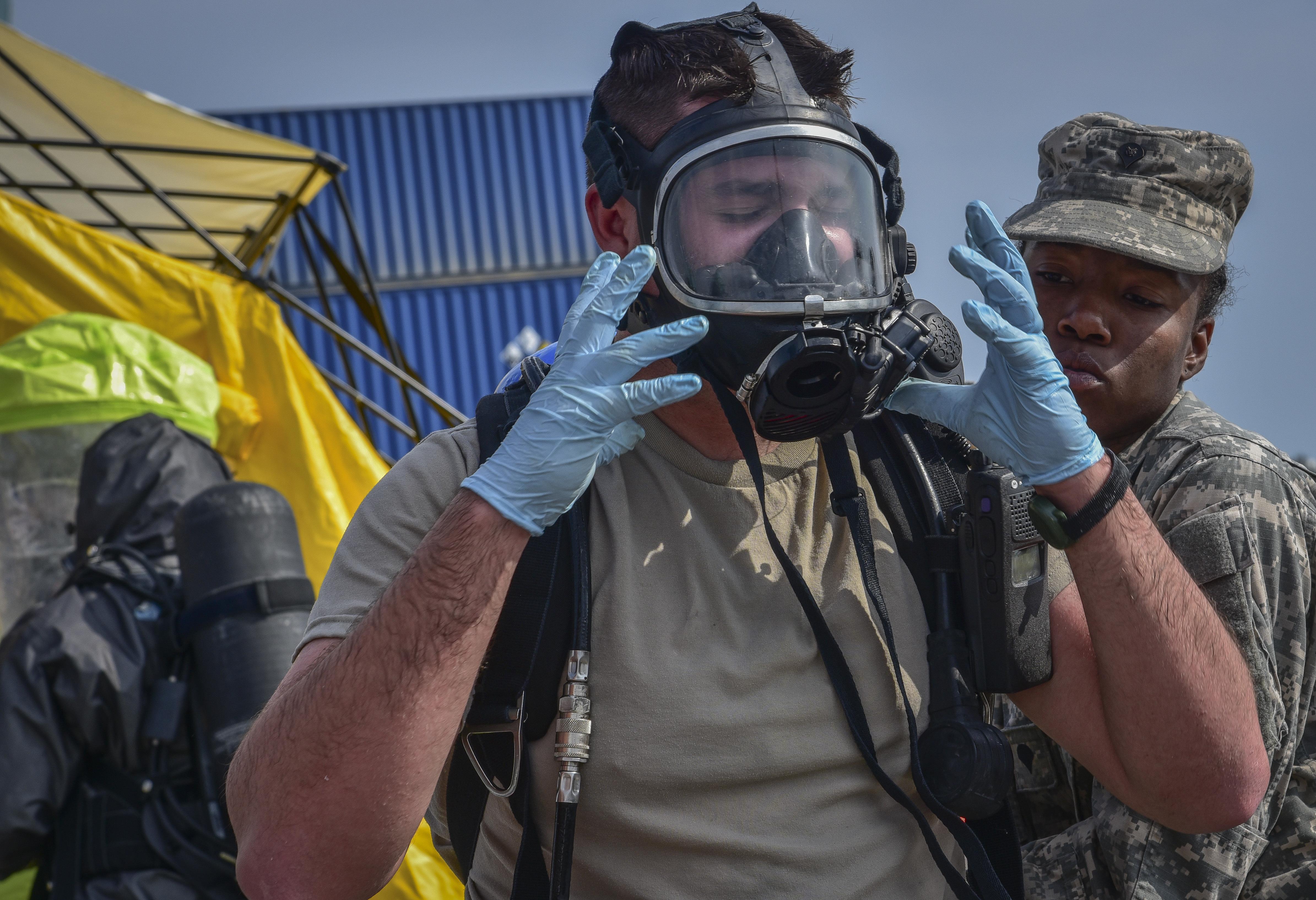Miami Dade Defense Cbrn Response Force Exercise