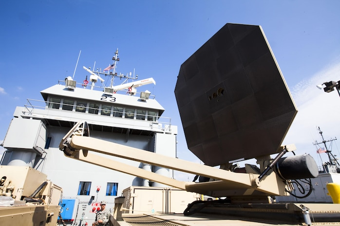 A demonstration using the Active Denial
