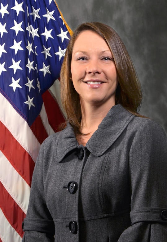 Amber Davis was selected as the Air Force Research Laboratory's Materials and Manufacturing Directorate Supervisor of the Year. (U.S. Air Force photo)